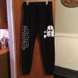 Star Wars joggers sz L